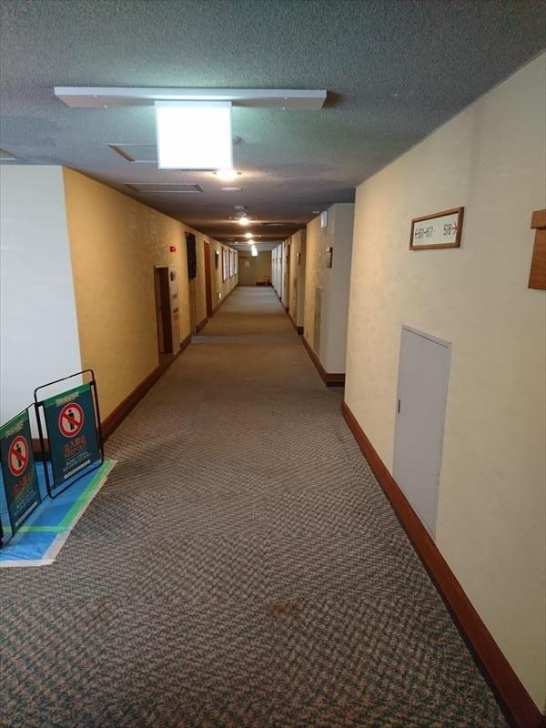 本館廊下をプチリニューアルしました!